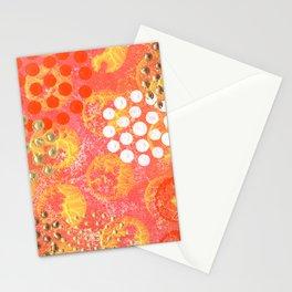 Orange Fizz Stationery Cards