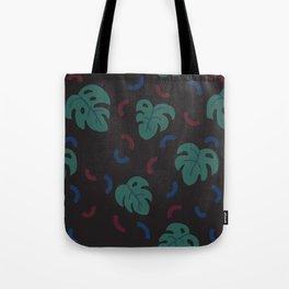 Monstera Pattern Tote Bag