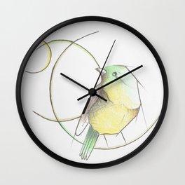 Vida de pájaro Wall Clock