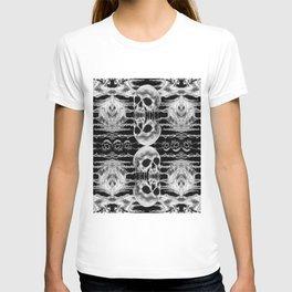 Freak Skull Pattern T-shirt