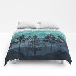 Mountains II Comforters