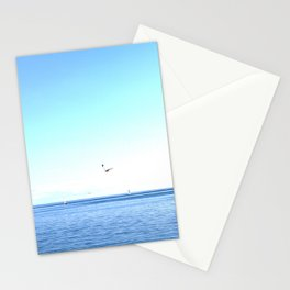 Lake Ontario: Seagulls & Sailboats Stationery Cards