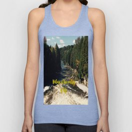 Nature is the poetry of life Unisex Tank Top
