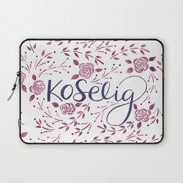 Koselig - Burgundy Laptop Sleeve