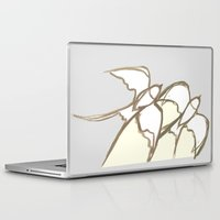 plain Laptop & iPad Skins featuring s1 plain by gasponce