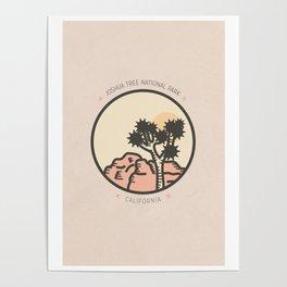 Icons: Joshua Tree One Poster