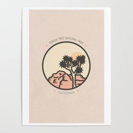 Icons: Joshua Tree One Poster