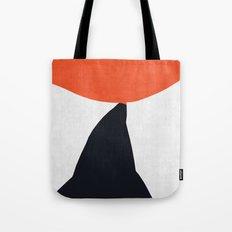 Blue and red modern art VIII Tote Bag