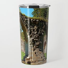 Hailes Abbey ruins. Travel Mug
