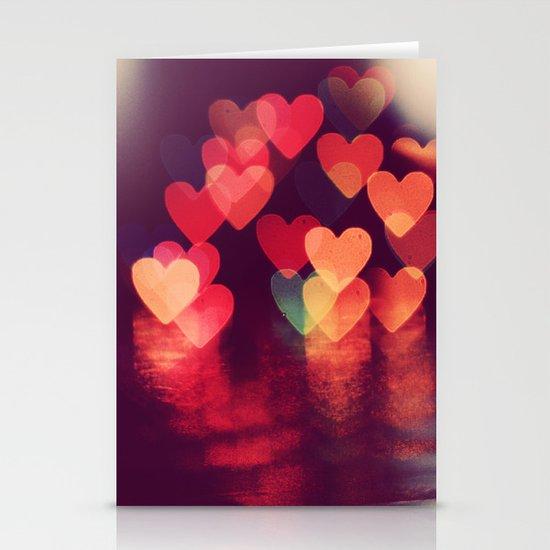 Love LIGHTS Stationery Cards