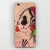 gypsy iPhone & iPod Skins featuring Gypsy by Dioni Pinilla