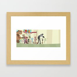 With A Little Help From My Friends  Framed Art Print
