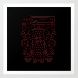Property of Ninja Art Print