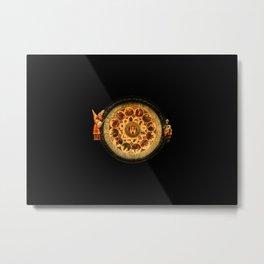 vintage clock_13 Metal Print
