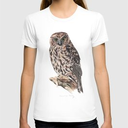 New Zealand Morepork T-shirt