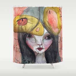 Juneau One Shower Curtain