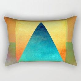 Triangle Composition XIII Rectangular Pillow