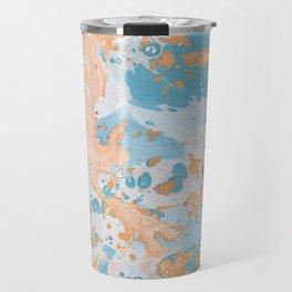 Summer watercolor drops Travel Mug