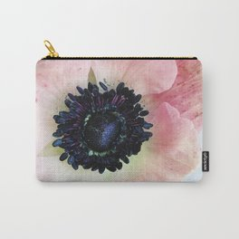 Anemone in Winter Carry-All Pouch