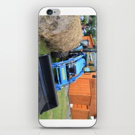 New Holland Workmaster 75 Tractor 1 iPhone Skin