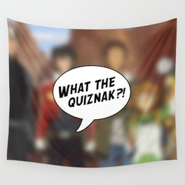 Voltron: What The Quiznak?! Wall Tapestry