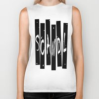 scandal Biker Tanks featuring SCANDAL by Robleedesigns