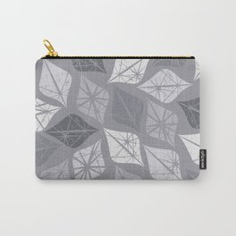 Winter pattern with ice elements Carry-All Pouch