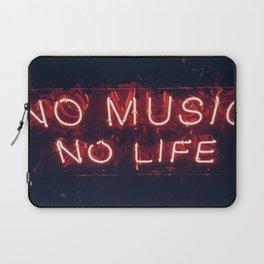 No Music No life Laptop Sleeve