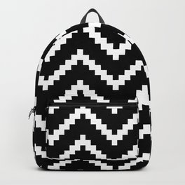 Tribal Chevron W&B Backpack