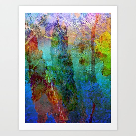 Abstract Texture 05 Art Print