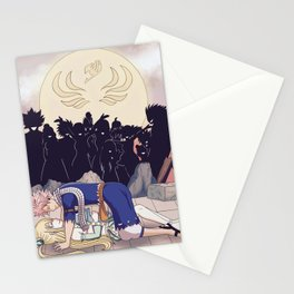 Welcome home, Natsu... Stationery Cards