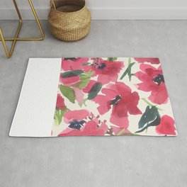 Red Poppy Dance Rug