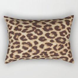 ReAL LeOparD Nude Rectangular Pillow