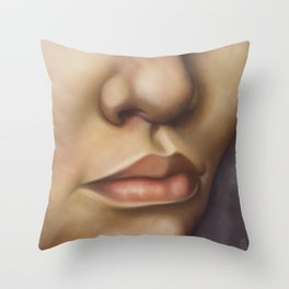 Study for a Portrait Throw Pillow