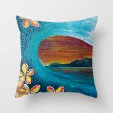 Sunset Tunnel Throw Pillow