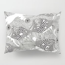 Fish School I Pillow Sham
