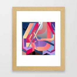 Maskine 17 Framed Art Print