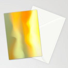 Nebulous Yellow Stationery Cards