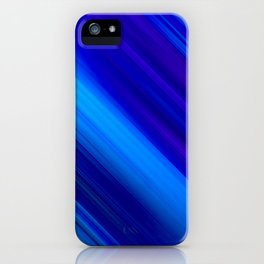 Abstract watercolor colorful lines painting iPhone Case