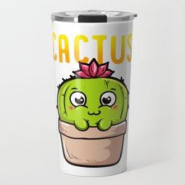 I Am a Tiny Cactus And I Love The World Cute Baby Travel Mug