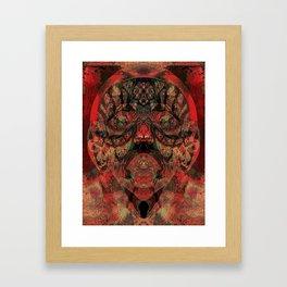 Tribal Face Framed Art Print