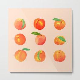 Peaches study Metal Print