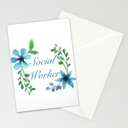 Social Worker For Women Social Worker Gifts Stationery Cards