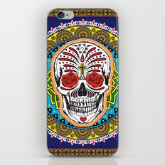 Day of the Dead Skull iPhone & iPod Skin