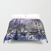 wildlife Duvet Covers featuring Wildlife by Olivier P.