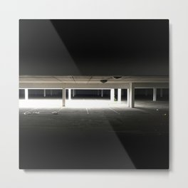 Happy Car Parking Metal Print