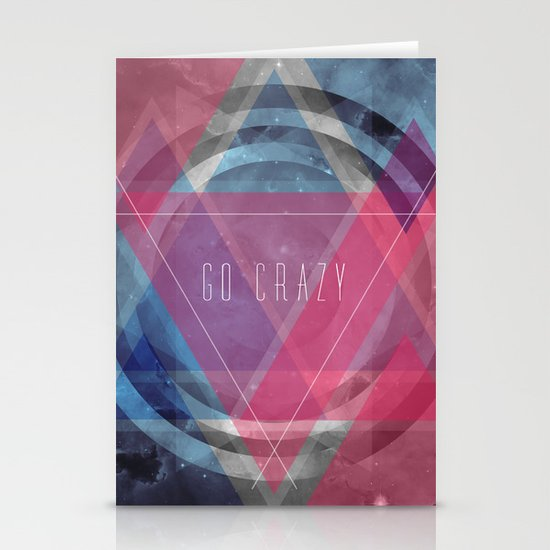 Craziness... let's go there. Stationery Cards