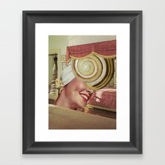 snailhead Framed Art Print