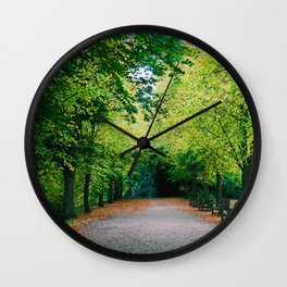 Fall path Wall Clock
