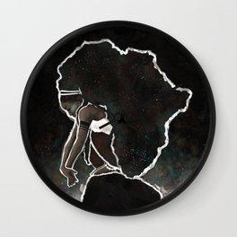 Africa Thinking Wall Clock